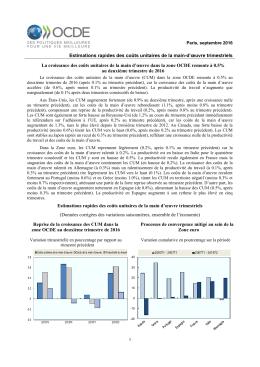Estimations rapides des coûts unitaires de la main-d`œuvre