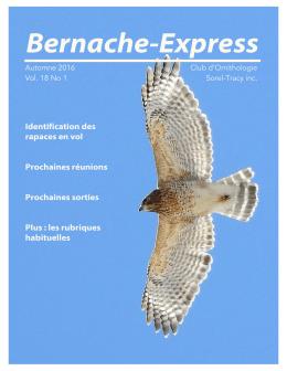 Bernache-Express - Club d`Ornithologie de Sorel