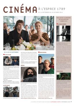 """Supplément """"Cinéma"""" - Site Officiel de la ville de Saint-Ouen"""