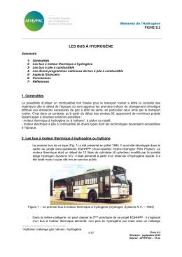 9.2 Les bus à hydrogène