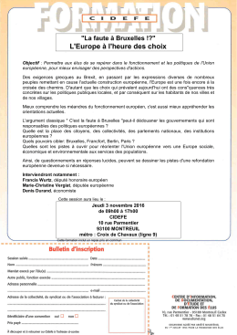 Fiche d`inscription Europe ( PDF - 380.5 ko)