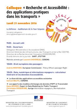 Télécharger le programme - Collectif pour une France accessible