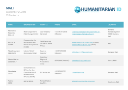 Humanitarian ID - HumanitarianResponse.info