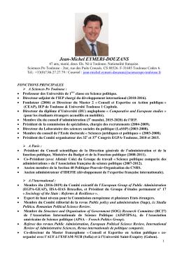 Curriculum vitae [PDF - 950 Ko ]
