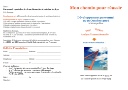 d`informations et vous procurer le bulletin d`inscription