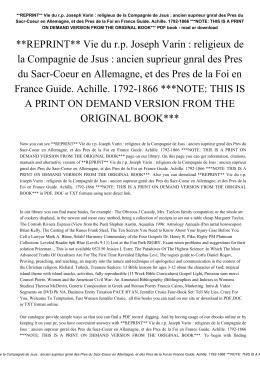 religieux de la Compagnie de Jsus : ancien suprieur gnral des Pres