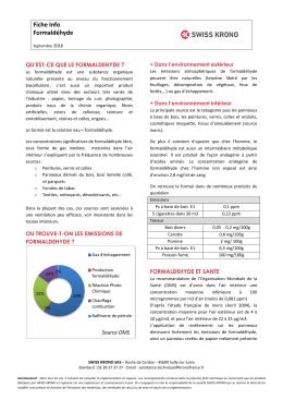 Fiche Info Formaldéhyde 2016 ( / 729.9 ko)