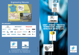 Brochure 2016 - Engineering Mesures