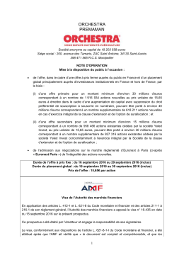 orchestra premaman - Orchestra Prémaman