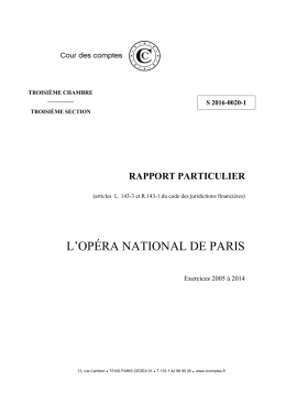 L`Opéra national de Paris