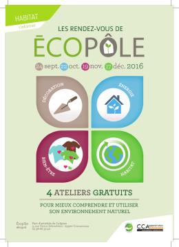 Télécharger le programme vers les RDV de l`Ecopôle