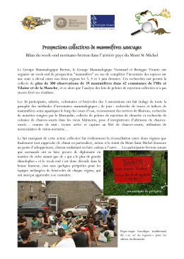 Week-end de prospections collectif Normandie