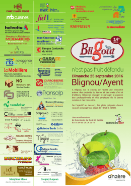 flyers rv 2016 - Le village de Blignou