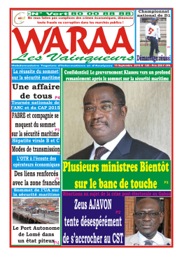 Waraa N°120 - Republic of Togo