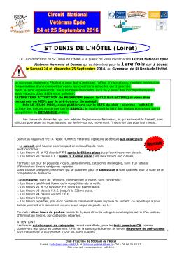 ST DENIS DE L`HÔTEL