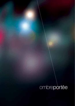 brochure - Ombre Portée