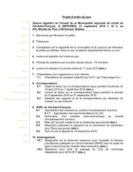 21 septembre 2 - MRC Val-Saint
