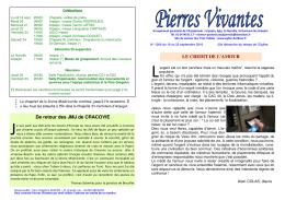 Pierres Vivantes - Secteur Pastoral des Trois Vallées