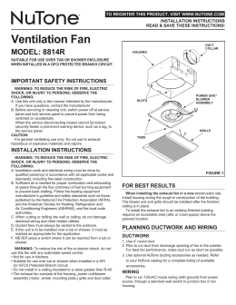 Ventilation Fan - InspectAPedia.com
