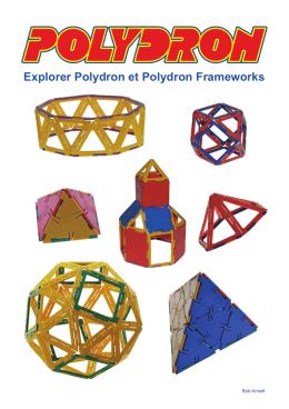Explorer Polydron et Polydron Frameworks
