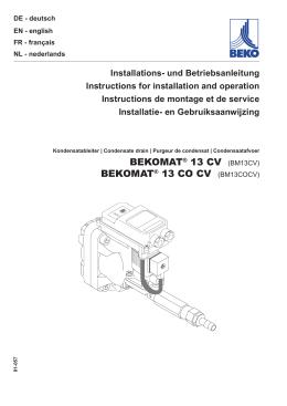 bekomat® 13 co cv (bm13cocv)