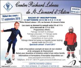 Centre Richard Lebeau de St