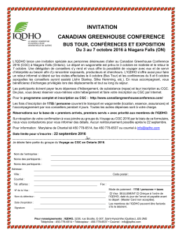 invitation canadian greenhouse conference