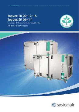 Certificats Topvex SR TR 09-15