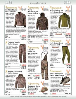 Vêtements Camouflage