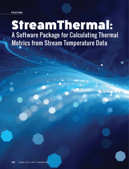 StreamThermal