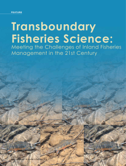 Transboundary Fisheries Science