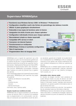 Superviseur WINMAGplus