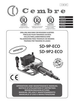 Manuale d`uso e manutenzione