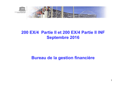 Présentation de BFM sur 200 EX/4 Partie II