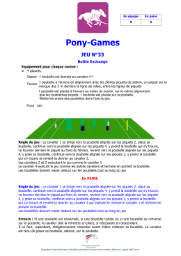 Normes techniques du Pony Games en Paire