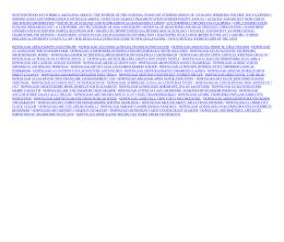 Free WOOD ANT ECOLOGY CONSERVATION BIODIVERSITY 539
