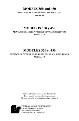 MODELOS 350 y 450