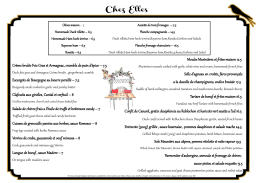 Dinner - Chez Elles Bistroquet