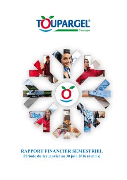 rapport financier semestriel