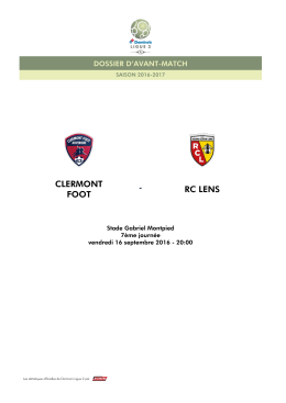 clermont foot rclens