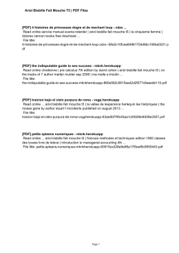 Ariol Bisbille Fait Mouche T5 eBooks