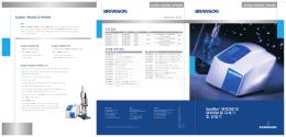 Branson 장점 Sonifier® SFX250 및 SFX550 셀 파쇄기 및 균질기