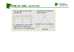 부위별 시공 / 슬래브