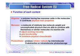 Free Radical System (5)