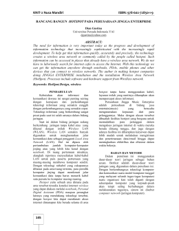 KNIT-2 Nusa Mandiri ISBN: 978-602-72850-1