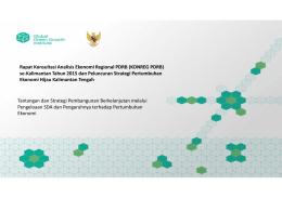 Rapat Konsultasi Analisis Ekonomi Regional PDRB (KONREG