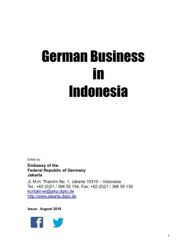 German Business in Indonesia
