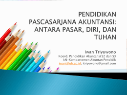 Diapositiva 1 - Ikatan Akuntan Indonesia