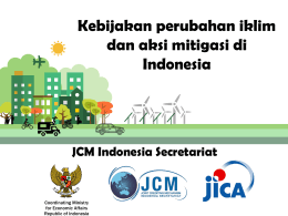 - JCM Indonesia