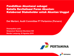 PERTAMINA - Ikatan Akuntan Indonesia